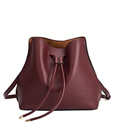 Leia Vegan Leather Shoulder Bag