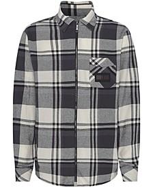 Men's Lewis Hamilton Checked Flannel Shirt