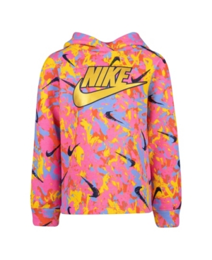 Nike TODDLER GIRLS PULL-OVER HOODIE