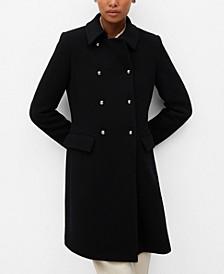 Women's Wool Double-Breasted Coat