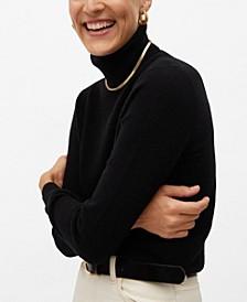 Women's Turtleneck Cashmere Sweater