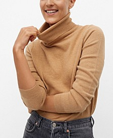 Women's Turtleneck Cashmere Sweater