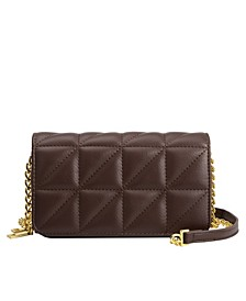 Brianna Mini Vegan Leather Shoulder Bag