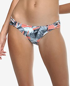 Printed Lost Flirty Surf Rider Swim Bottoms