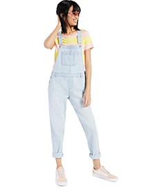 Petite Denim Overalls, Created for Macy's