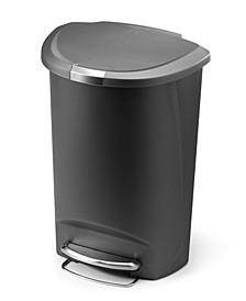 50L Semi-Round Trash Can