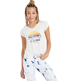 California Waves Graphic T-Shirt, Created for Macy's