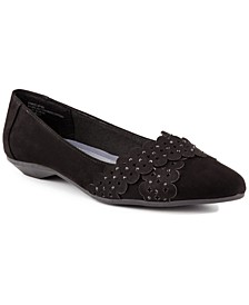 Adella Pointed-Toe Flats, Created for Macy's