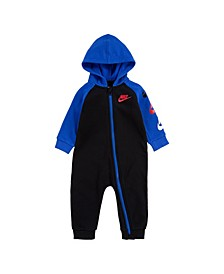 Baby Boys Futura Fleece Coverall
