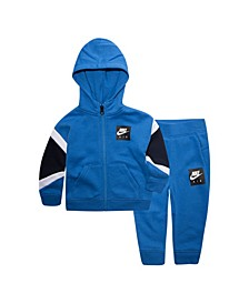 Baby Boys Air Zip Hoodie and Pants Set