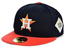 Houston Astros World Series Patch 59FIFTY Cap
