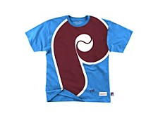 Philadelphia Phillies Men's Big Face T-Shirt