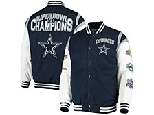 Men's Dallas Cowboys Goal Post Varsity Commemorative Jacket