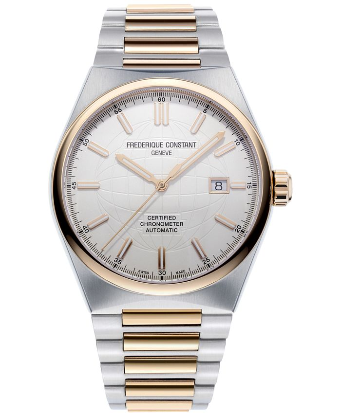 Frederique Constant - Men's Swiss Automatic Highlife COSC Two-Tone Stainless Steel Bracelet Watch 41mm