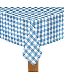 "Buffalo Check Navy 100% Cotton Table Cloth for Any Table 52""X70"""