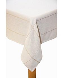 Carlisle 60x102 Cotton Tablecloth Taupe