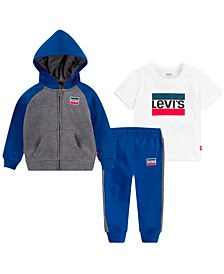 Baby Boys Sportswear 3Pc Set