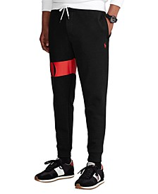 Men's Double-Knit Graphic Jogger Pants