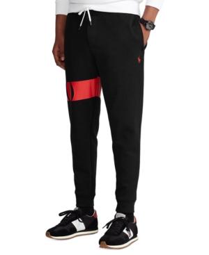 Polo Ralph Lauren MEN'S DOUBLE-KNIT GRAPHIC JOGGER PANTS