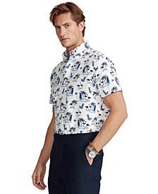 Men's Classic-Fit Nautical Oxford Shirt