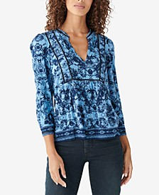 Printed Popover Top