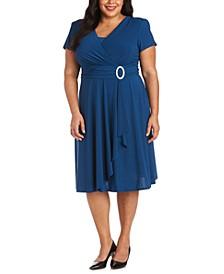 Plus Size Cascade Dress