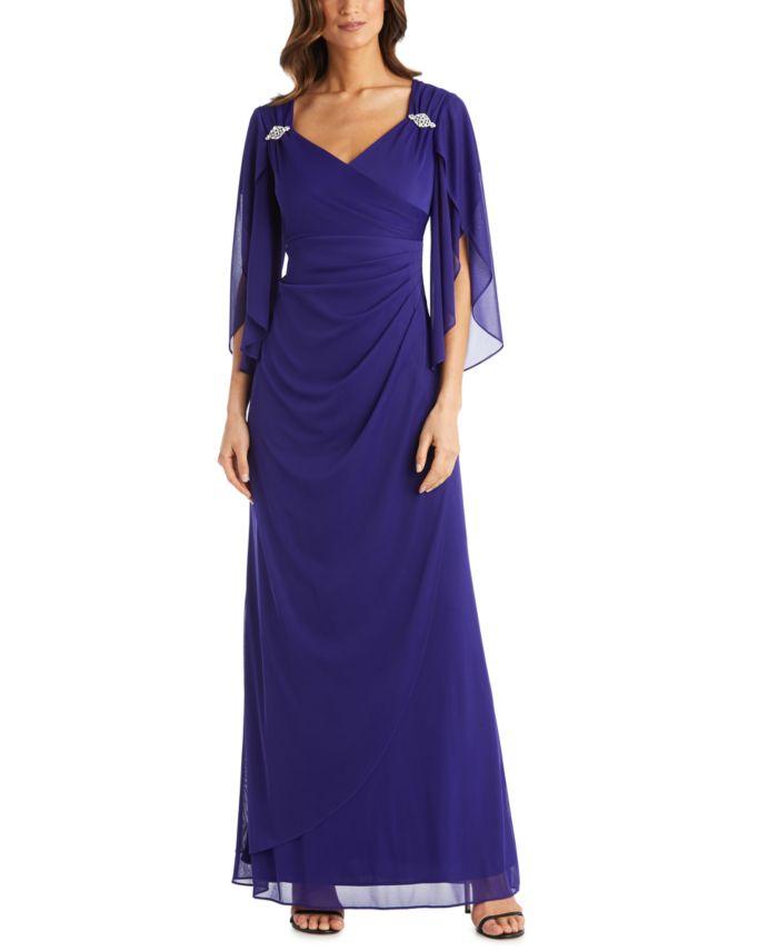 R & M Richards Empire-Waist Gown  & Reviews - Dresses - Women - Macy's