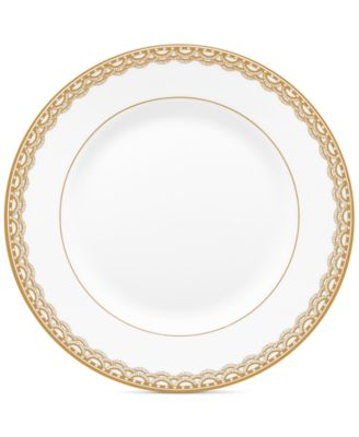 Lismore Lace Gold Bread & Butter Plate