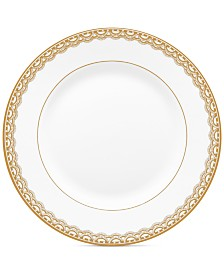 Waterford Lismore Lace Gold Bread & Butter Plate