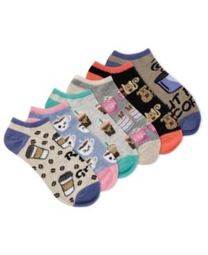 K. Bell Women's Rise And Grind 6pk Ankle Socks