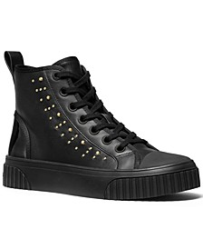 Gertie Studded High-Top Sneakers