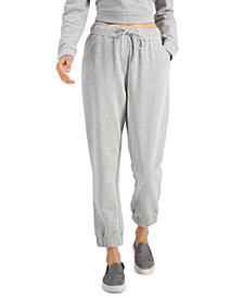 INC Micro-Studded Jogger Sweatpants, Created for Macy's