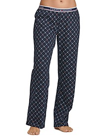 Logo-Print Pajama Pants