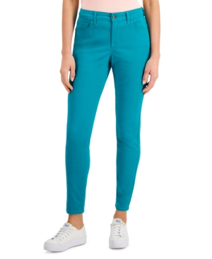 Style & Co Pants PETITE CURVY SKINNY JEANS, CREATED FOR MACY'S