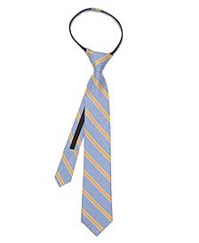 Comics Stripe Men's Zipper Tie