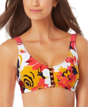 Wallflower Beaded Bikini Top Women's Swimsuit