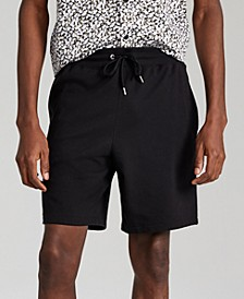 """Men's Regular-Fit Solid French Terry 8"""" Shorts, Created for Macy's"""