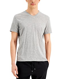 INC Men's Solid V-Neck T-Shirt, Created for Macy's