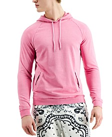 Men's Garment-Dyed French Terry Hoodie, Created for Macy's