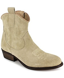Women's Mireya Western Ankle Booties