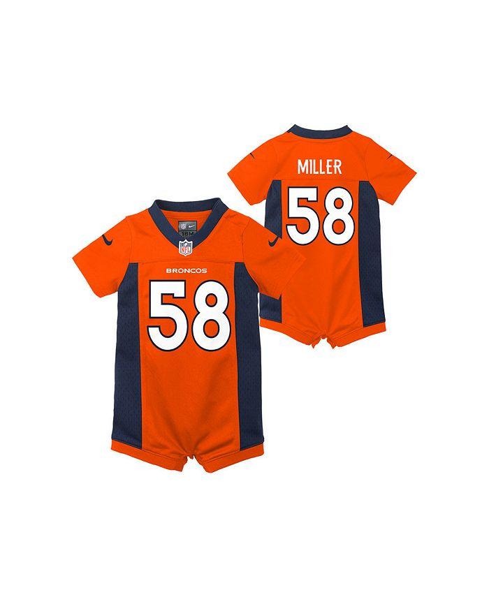 Outerstuff Denver Broncos Infant Romper Jersey - Von Miller ...