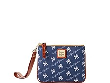 Dooney & Bourke New York Yankees League Collection Stadium Wristlet