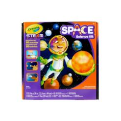 Crayola Solar System Science Kit, Educational Toy, Gift for Kids, Ages 7, 8, 9, 10