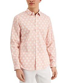 INC Men's Daisy Print Shirt, Created for Macy's