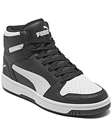 Big Boys Rebound LayUp Mid Casual Sneakers from Finish Line