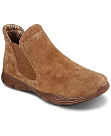 Women's Relaxed Fit: Bikers - MC SGR Chelsea Boots from Finish Line