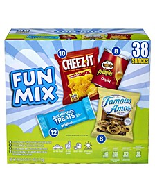 Sweet and Savory Fun Snack Variety, 38 Count