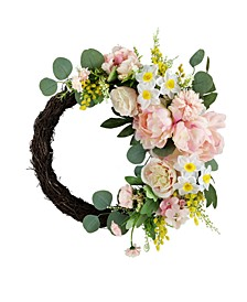 Peony Wreath, Created for Macy's