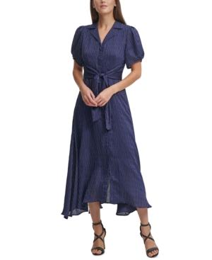 Vintage Shirtwaist Dress History Dkny Tie-Front Shirtdress $129.00 AT vintagedancer.com