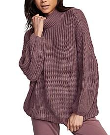 Juniors' Fitz Oversized Sweater